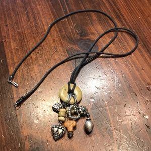 Pendant charm necklace